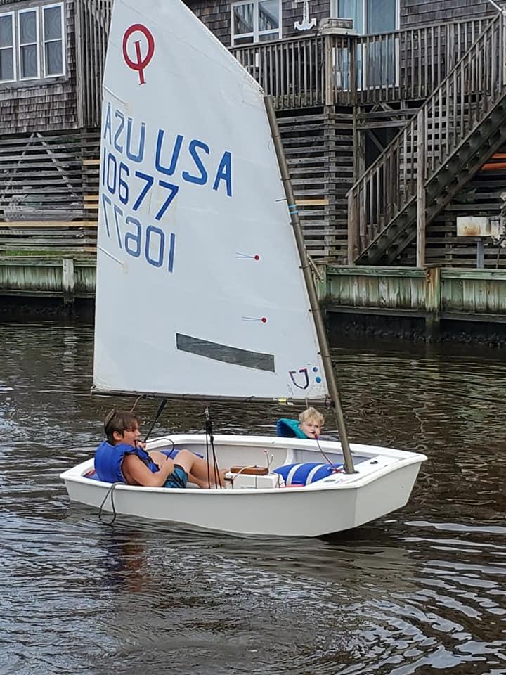 Hatteras Community Sailing Optimist
